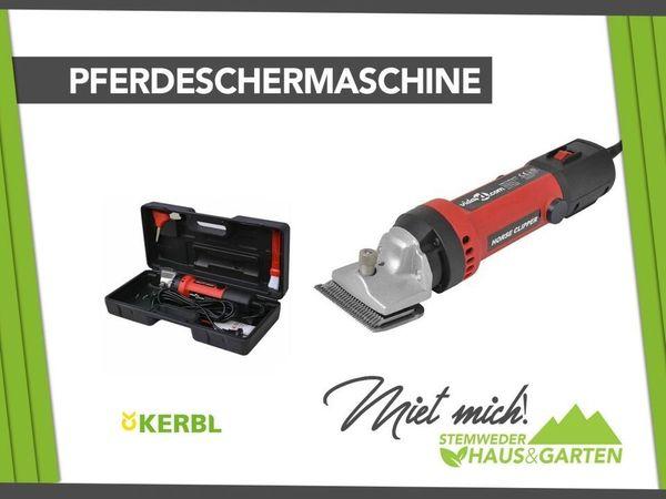 Mieten Leihen Pferdeschermaschine Schermaschine Kerbl
