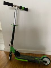 HUDORA Street Dragon grün Kinder-Roller