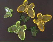 Dekorative Schmetterlinge 6 Stk