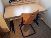 Kettler-Kinderschreibtisch mit Stuhl