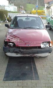 gegen Gebot Fiesta Unfallfahrzeug Bj