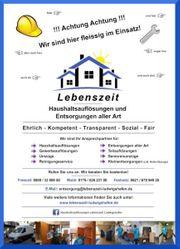 Professionelle Haus oder Wohnungsauflösungen mit