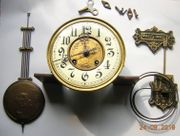 Mechanisches Uhrwerk mit Ziffernblatt Zeigern