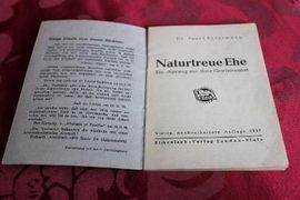 Allgemeine Literatur und Romane - Naturgetreue Ehe von Dr Josef