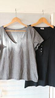 Basic T-Shirts 2 Stk Gr