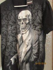 neues herren Totenkopf tshirt gr