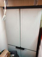 Kunststoffschrank Keter grau 162x72x37 cm
