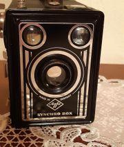 Agfa-Synchron Box komplett in alter