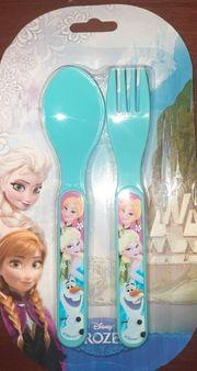 2tlg Kunststoff Kinderbesteck Disneys Frozen