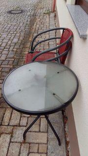 Gartenmöbel Tisch mit 2 Stühlen