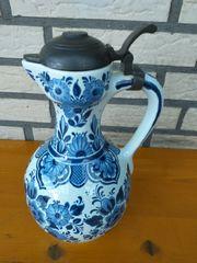 Alter Delfts Keramik Krug mit