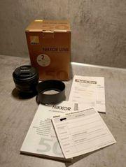 Nikon AF-S 50mm 1 8