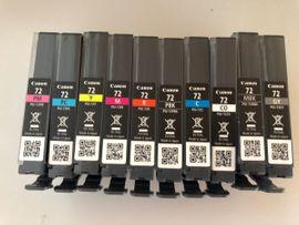 Canan PIXMA PRO-10 mit Patronen: Kleinanzeigen aus Oberasbach - Rubrik Tintenstrahldrucker