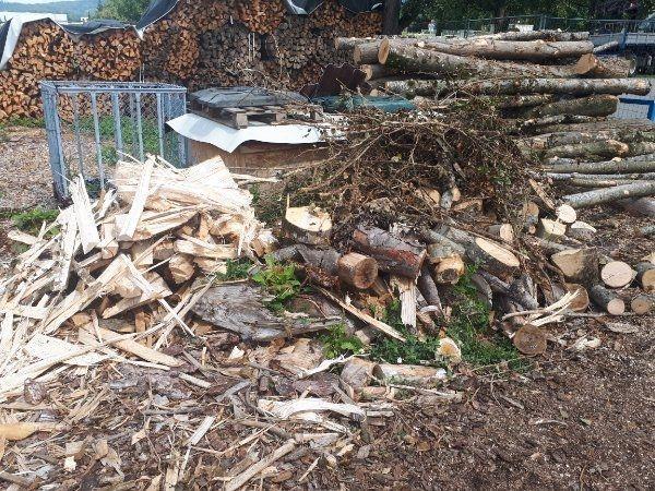 Brennholz ca 2m3 - Abschnitte und
