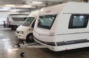 Winterplatz frei WOMO Caravan Boot
