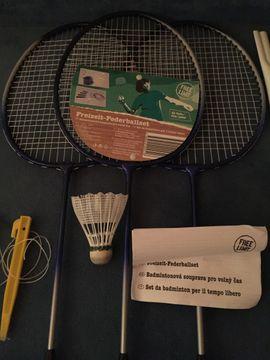 Bild 4 - Badminton Federball Sets 2 x - Starnberg