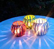 Upcycling Laterne Weihnachts Deko Windlicht