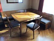Eckbank inkl 3 Stühle Tisch