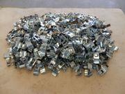 Etikettenhalter Etikettenclipps für Stapelboxen 1150