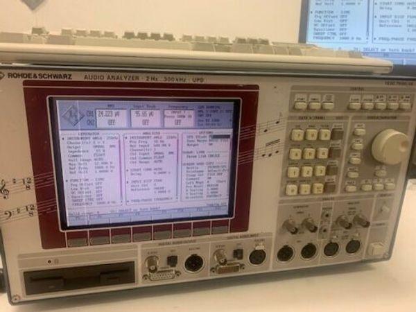 Rohde Schwarz UPD Audio Analyzer