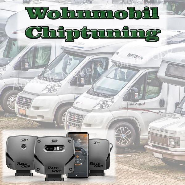Chiptuning Wohnmobil Campingbus Fiat Ford
