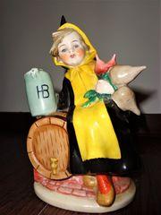 Goebel Münchner Kindl Rauchverzehrer Porzellanfigur