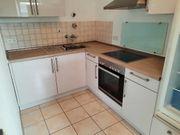 Neuwertige Küche weiß hochglanz