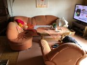 Couch Sessel Schrank Vitrine
