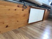 Bettgestell Holz 200x200 mit 4