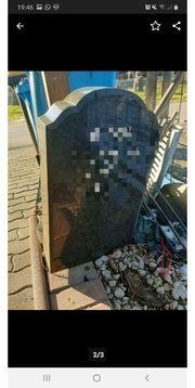 Grabstein aus Granitstein