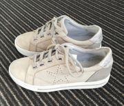 Leder Schuhe Gr 39i