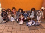 10 Porzellanpuppen Sammlerpuppen Puppen Porzellan