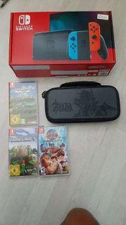 Nintendo Switch mit spiel