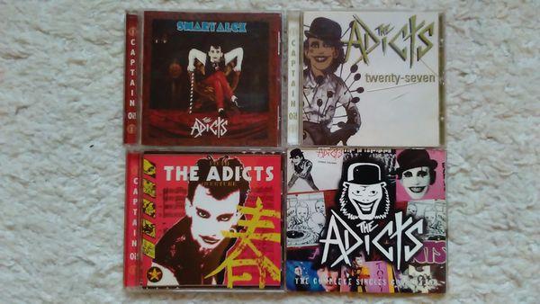 VERKAUFE 11 PUNK CD s