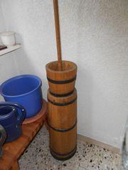 Butterfass Holz