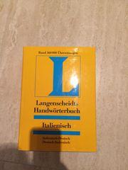Wörterbuch Italienisch