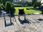 Rollstuhl Rollator Gehbock