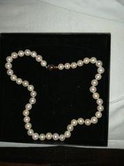 Echte Süßwasser Perlenkette