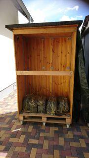 Gartenbox Brennholzbox Aufbewahrungsbox