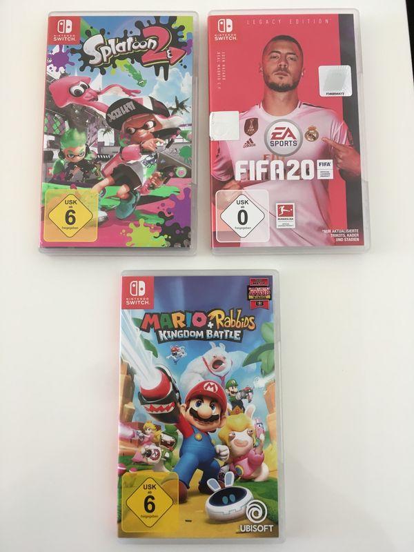 Nintendo Switch Spiele Verkauf Tausch