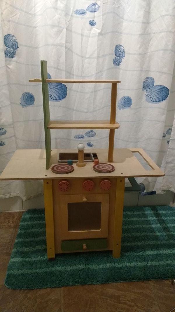 Spielküche mit Herd u Waschmaschine