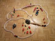 Spielzeug Eisenbahn aus Holz