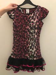 Faschingskleid Leopardengirl Karnevalskostüm