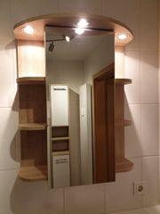 Badmöbel - Spiegelschrank beleuchtet
