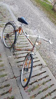 Altes Steiger Fahrrad aus den