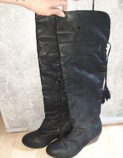 biete getragene Stiefel an