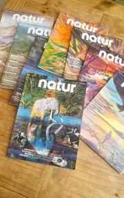 Natur Magazine Zeitschrift die komplette