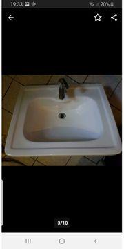 Waschtisch Waschbecken Säule Standwaschbecken Pozzi