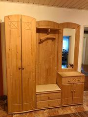 Garderobe Sideboard Schuhschrank aus vollholz