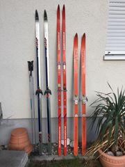 Langlaufski Fischer 210 und 220